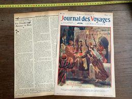 1910 JDV LES YEZIDIS ADORATEURS DU DIABLE CROYANCES MYSTERIEUSES DES SECTES D ORIENT - Alte Papiere