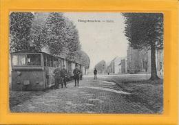 HOOGSTRATEN: TRAM-STOOMTRAM-HALTE-MET VOLK - Hoogstraten
