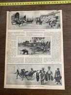 1910 JDV EN DJINRIKISHA SUR LA ROUTE DE COLOMBO - Alte Papiere