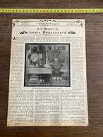 1910 JDV A LA MEMOIRE DE LOUIS BOUSSENARD SUR LA TOMBE - Alte Papiere