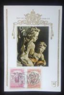 Vatican, Uncirculated Maximum Card, «Art», «Sculpture», «Famous People», «Raffaelo Sanzio», 1983 - Vatican
