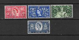 1953 - GRAN BRETAGNA - N. 279/82 USATI (CATALOGO UNIFICATO) - Used Stamps