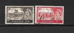 1955 - GRAN BRETAGNA - N. 283/84 USATI (CATALOGO UNIFICATO) - Used Stamps
