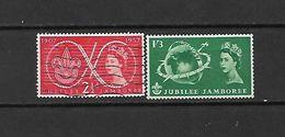 1957 - GRAN BRETAGNA - N. 302 USATO - N. 304** (CATALOGO UNIFICATO) - Used Stamps