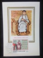 Vatican, Uncirculated Maximum Card, « Bimillenario Virgiliano », 1981 - Vatican