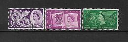 1958 - GRAN BRETAGNA - N. 312/14 USATI (CATALOGO UNIFICATO) - Used Stamps