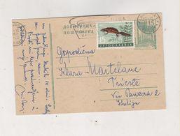 YUGOSLAVIA 1962 LJUBLJANA Postal Stationery - 1945-1992 Repubblica Socialista Federale Di Jugoslavia