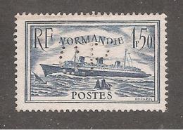 Perforé/perfin/lochung France No 299 C.P Ag. Marit. Borghans Ch. Poulain - C. Poulet - Perfins