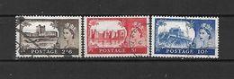 1959/63 - GRAN BRETAGNA - N. 351/53 USATI (CATALOGO UNIFICATO) - Used Stamps