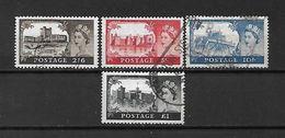 1959/63 - GRAN BRETAGNA - N. 351A/54A USATI (CATALOGO UNIFICATO) - Used Stamps