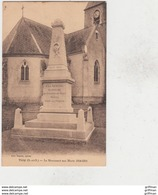 TILLY LE MONUMENT AUX MORTS 1914 1919 TBE - Sonstige Gemeinden