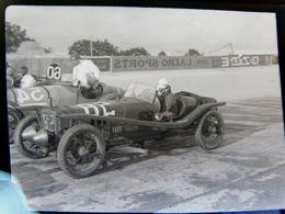 Négatif Souple Photographie Voiture De Course  à MONTLHERY En  1927 - Automobile