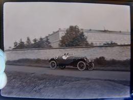 Négatif Souple Photographie Voiture De Course   En  1927 - Automobile