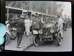 Négatif Souple Photographie Les Stands à MONTLHERY En  1927 - Automobile