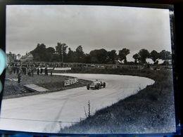 Négatif Souple Photographie Le Circuit De MONTLHERY En  1927 - Automobile