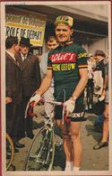 Eddy Pauwels Bornem Equipe Ploeg Wiel's Groene Leeuw Wielrenner Coureur Cycliste Cyclista Wielrennen Cycling Chromo CPA - Cyclisme