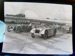 Négatif Souple Photographie Voitures De Course MONTLHERY En  1927 - Automobile