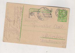 YUGOSLAVIA 1955 LJUBLJANA Postal Stationery - Storia Postale