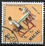 Macau Macao – 1962 Sports 20 Avos Used - Macao