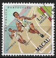 Macau Macao – 1962 Sports 1,20 Patacas Used - Macao