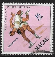 Macau Macao – 1962 Sports 16 Avos Used Stamp - Macao