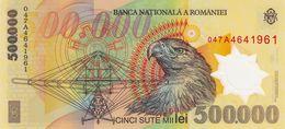 ROMANIA P. 115a 500000 L 2000 UNC - Rumänien