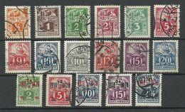 ESTLAND Estonia 1922-1928 Michel 32 - 39 A & 57 - 59 & 68 - 72 & 73 O - Estland