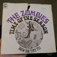 45T-The Zombies – Time Of The Season - Rock