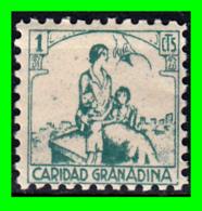 ESPAÑA GUERRA CIVIL 1936 GRANADA (SELLO PROVINCIAL) GÁLVEZ 315 - Steuermarken/Dienstpost