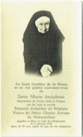 Doodsprentje/Image Mortuaire. Princesse Joséphine  De Belgique (Soeur Marie Joséphine) Décédée Le 6/1/1958. - Images Religieuses