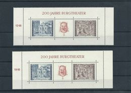 Austria Year 1976 2x BL.3 MNH ** - 1945-.... 2ª República