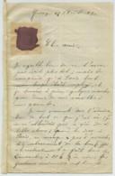 Exposition Universelle De Paris 1889 . Récit émerveillé D'un Habitant De Moissey (Jura) . 4 Pages . Show Buffalo Bill . - Manuscrits