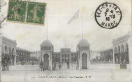 CASABLANCA .  LES CASERNES ( Voir Verso ) - Casablanca