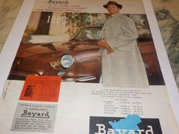 ANCIENNE   PUBLICITE LIGNE JEUNE   BAYARD 1959 - Vintage Clothes & Linen