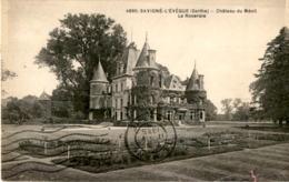 D72  SAVIGNE- L' EVEQUE  Château Du Ménil- La Roseraie  ..... - France