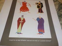 ANCIENNE PUBLICATION MAQUETTE DE RENE PECHERAT JUGEMENT DES ROIS 1942 - Unclassified