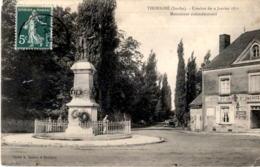 D72  THORIGNE  Combat Du 9 Janvier 1871- Monument Commémoratif   ..... - France