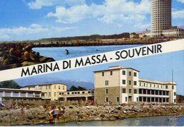 Marina Di Massa - Souvenir - Formato Grande Non Viaggiata – E 16 - Massa