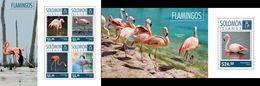 Salomon 2014, Animals, Flamingoes, 4val In BF+BF - Flamingo