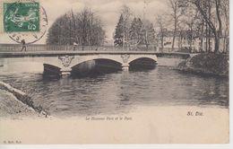 CPA Saint-Dié - Le Nouveau Pont Et Le Parc - Saint Die