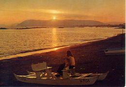 Marina Di Massa - Notturno La Spiaggia - Formato Grande Non Viaggiata – E 16 - Massa