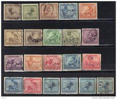Congo Belge N° 108-110, 112-115, 118, 119, 121-131, 134 * Et O - 1923-44: Used