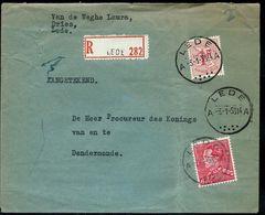 Doc. De LEDE - A A - Du 03/01/53 En Rec. - Postmark Collection