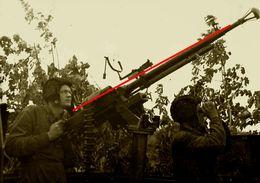 Photo 1939-45 Armee Russe Armee Rouge   1941 Tankiste Affut Anti Aerien - 1939-45