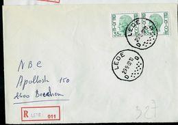Doc. De LEDE - D D - Du 29/09/82 En Rec. - Postmark Collection