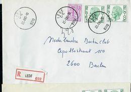 Doc. De LEDE - C - C - (9310) Du 22/09/83 En Rec. - Postmark Collection