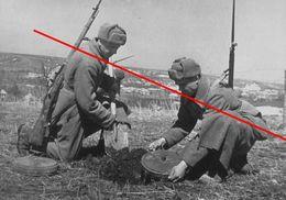 Photo 1939-45 Armee Russe Armee Rouge  Sapeur Genie Mine - 1939-45