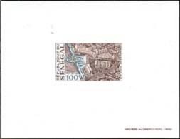 SENEGAL (1970) Urban Development In Dakar. Deluxe Sheet. Scott No C88, Yvert No PA93. - Senegal (1960-...)