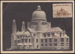 BELGIUM (1939) Rubens House. Maximum Card With First Day Cancel. Scott No B241. - 1934-1951