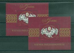 Austria Year 1992 2x Mi.BL.11 MNH ** - 1945-.... 2ª República